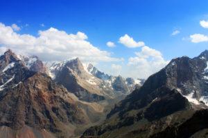 фанские горы альпинизм